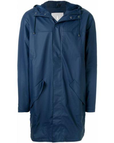 Синее пальто Rains
