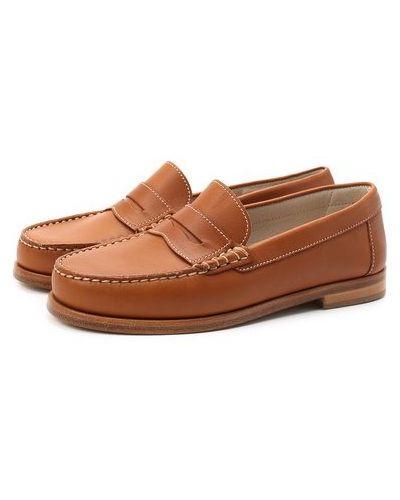 Кожаные коричневые туфли с подкладкой Jarrett