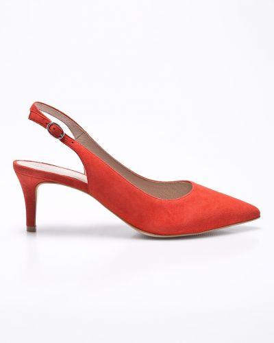 Красные туфли на высоком каблуке Gino Rossi