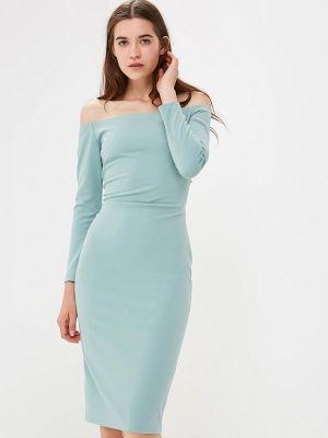 Платье бирюзовый осеннее Ruxara