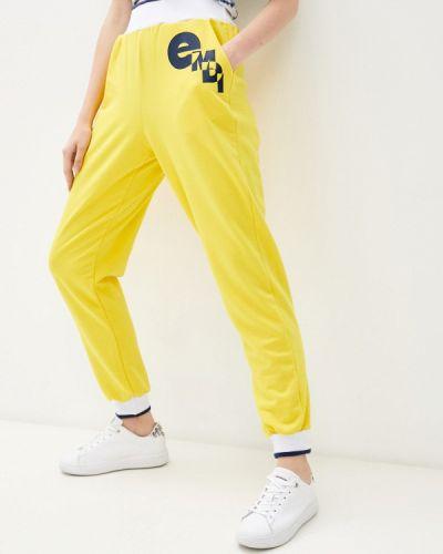 Желтые спортивные брюки Emdi