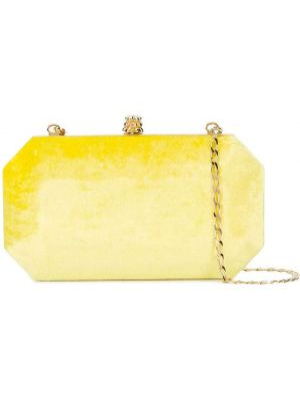 Niebieska złota sprzęgło na łańcuchu szmaragd Tyler Ellis