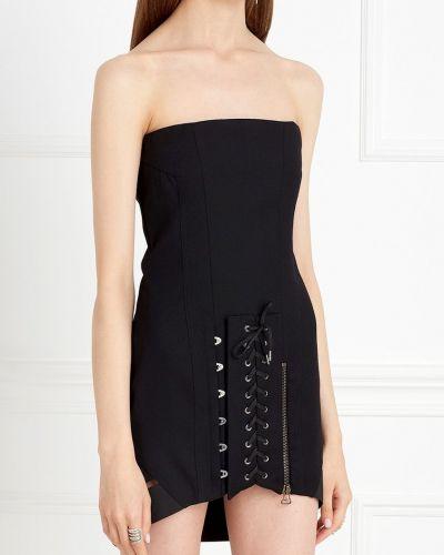 Шерстяное платье - черное Anthony Vaccarello