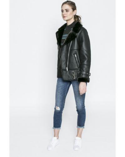 Черная утепленная куртка Missguided