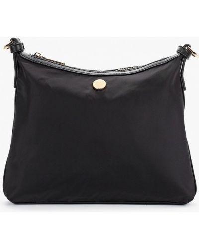 Черная нейлоновая сумка через плечо с перьями Marks & Spencer
