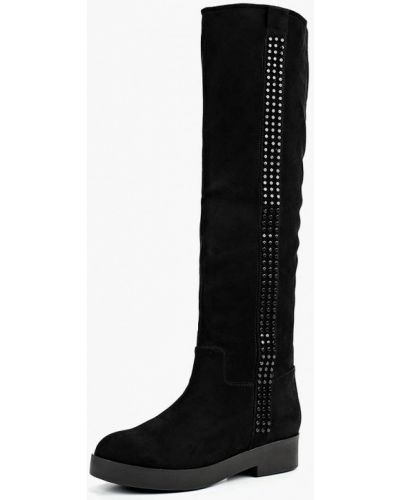 Черные ботфорты Just Couture
