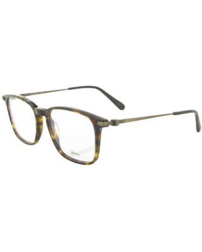 Brązowe okulary Brioni