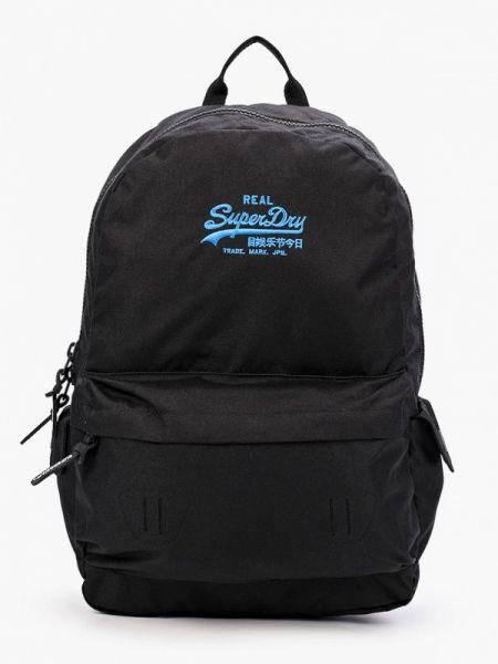 Рюкзак городской черный Superdry