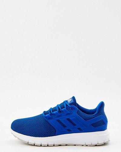 Синие зимние кроссовки Adidas