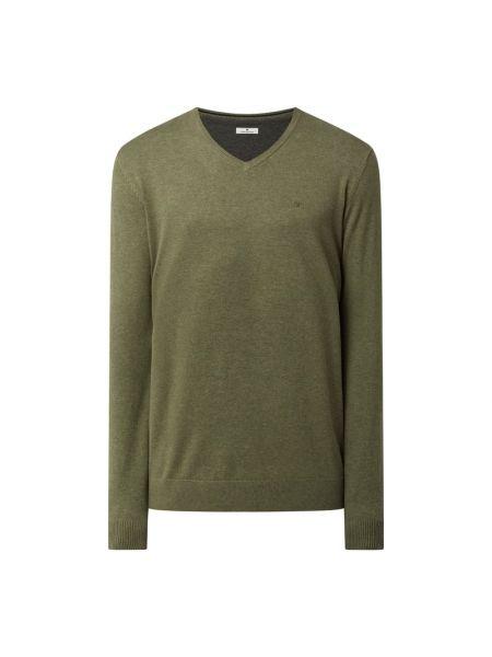 Zielony sweter bawełniany Tom Tailor