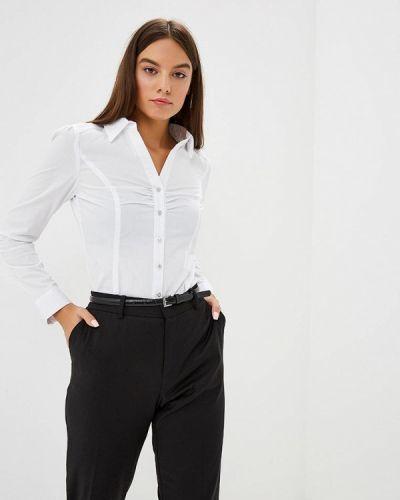 Белая блузка с длинным рукавом Morgan