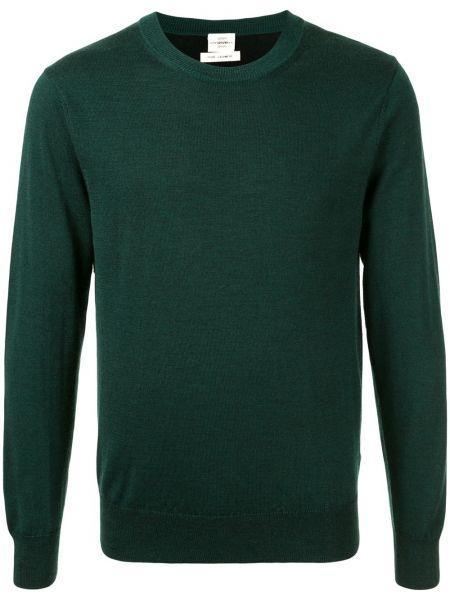 Z kaszmiru prążkowany pulower z długimi rękawami Kent & Curwen