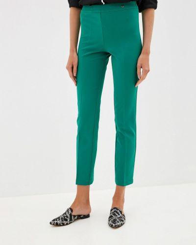 Классические брюки зеленый Blugirl Folies