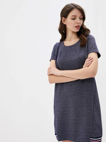 Платье серое футболка Lika Dress