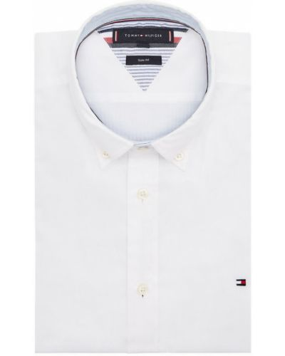 Biała koszula oxford Tommy Hilfiger
