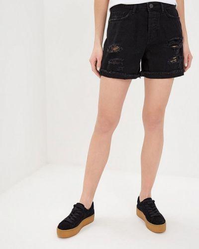Джинсовые шорты черные Noisy May