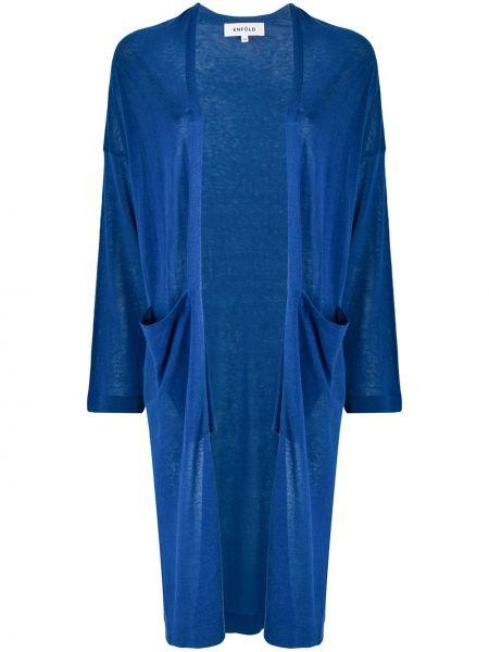 Kardigan - niebieski Enfold