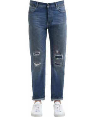 Niebieskie jeansy Kent & Curwen