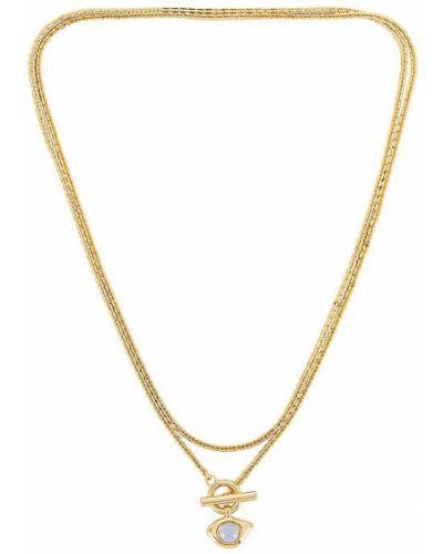 Złoty naszyjnik łańcuch pozłacany kopertowy Jenny Bird