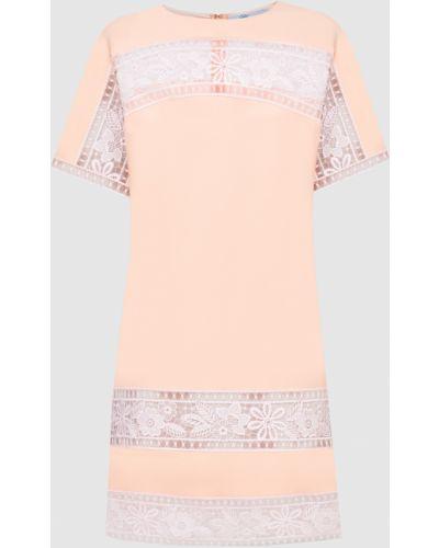 Платье миди - оранжевое Blumarine
