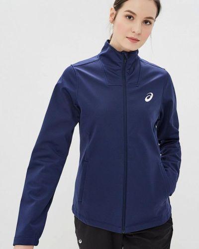 Куртка весенняя синий Asics