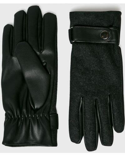 Кожаные перчатки текстильные шерстяные Medicine