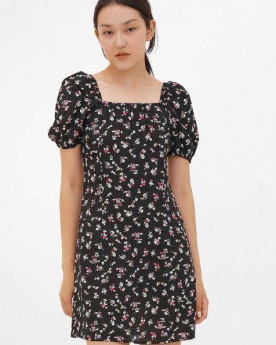 Прямое платье - черное Dorogobogato