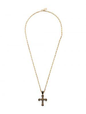 Золотистое ожерелье золотое Dolce & Gabbana