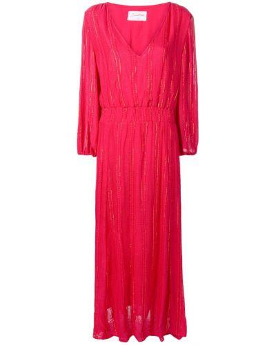 Платье макси с вырезом на молнии эластичное Sundress