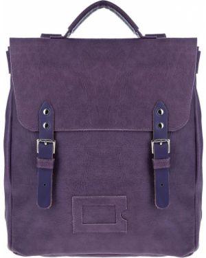 Кожаный рюкзак фиолетовый Kokosina