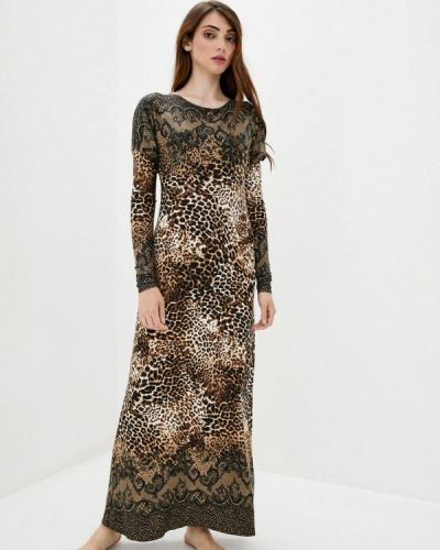 Коричневое домашнее платье Прованс