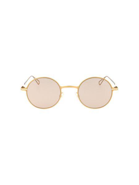 Żółte okulary Mykita