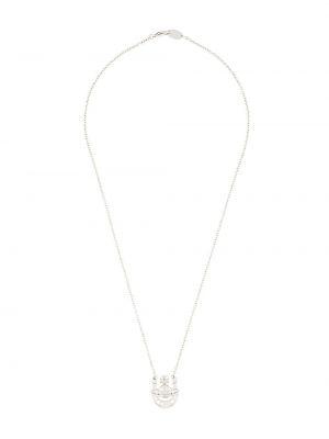 Серебряное ожерелье с подвесками металлическое Vivienne Westwood