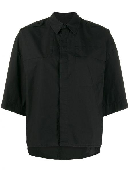 Рубашка с коротким рукавом - черная A.f.vandevorst