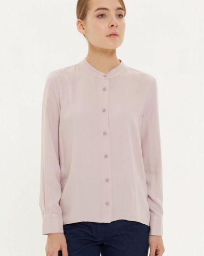 Блузка с длинным рукавом розовая базовый Base Forms