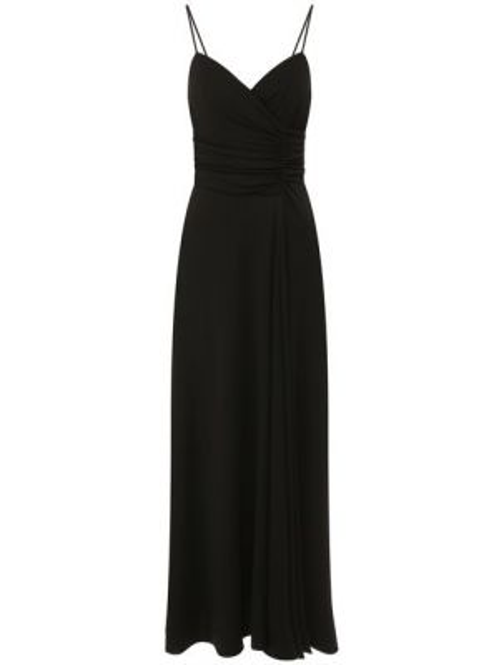 Платье из вискозы с подкладкой Giorgio Armani