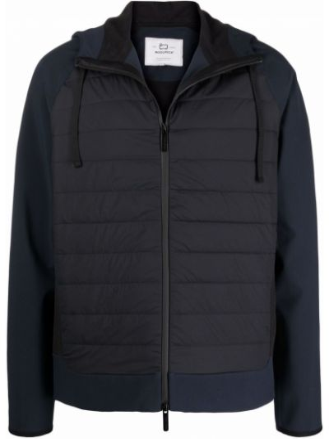 Синяя куртка из полиамида Woolrich