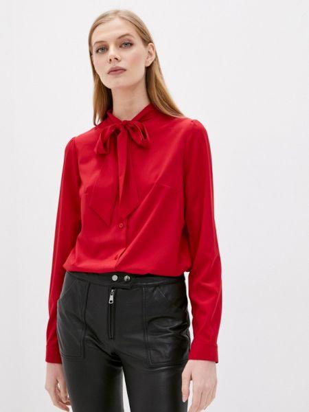 Красная блузка с бантом Rivadu