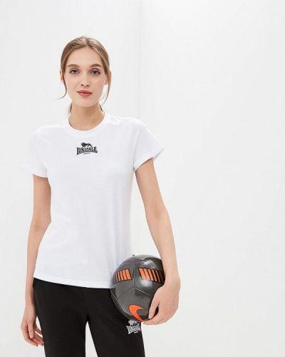 Белая футболка Lonsdale