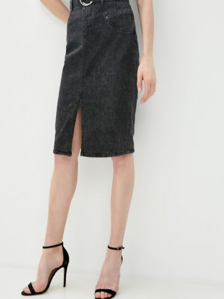 Шорты-юбки турецкая серая юбка осенняя Guess Jeans