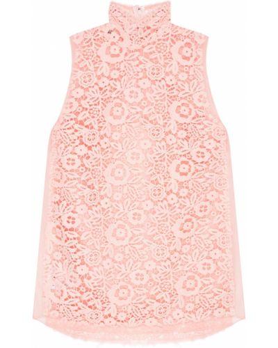 Блузка розовая из органзы Miu Miu