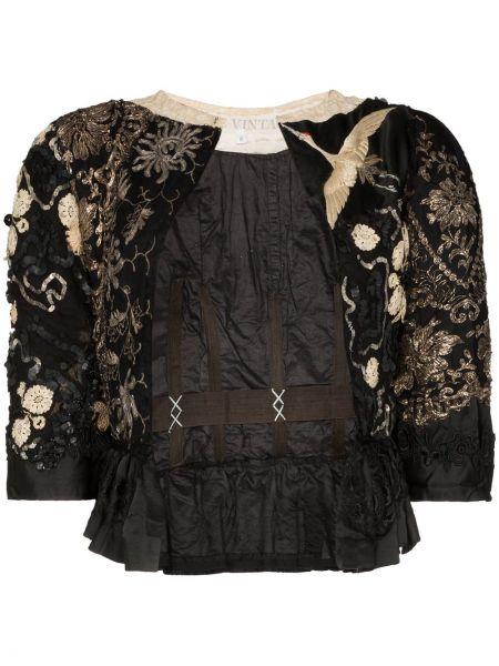 Черное болеро One Vintage