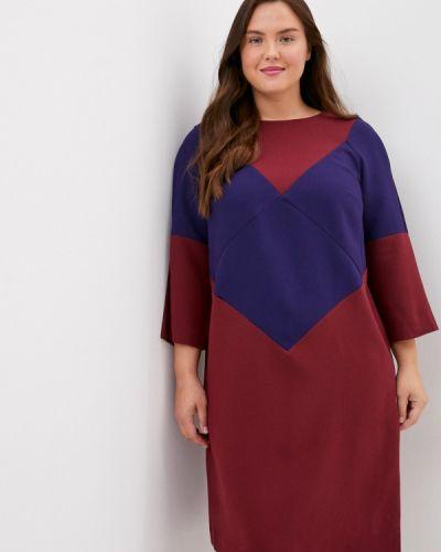 Расклешенное свободное красное платье-футляр Finn Flare