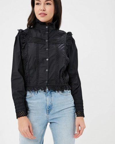 Черная блузка Sister Jane