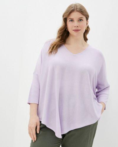 Фиолетовая пуловер Samoon By Gerry Weber