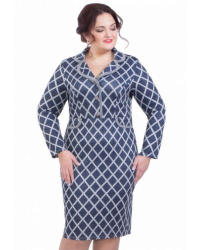 Синее платье Wisell