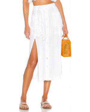 Spódnica na plażę z paskiem z wiskozy L*space