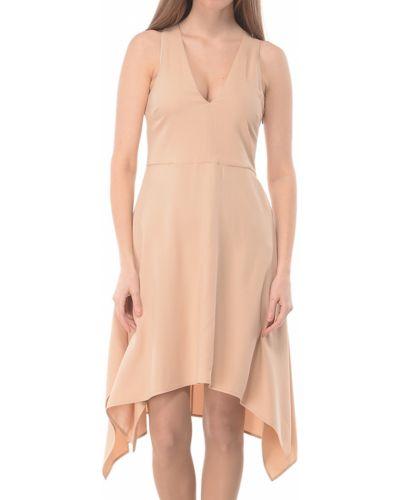Бежевое платье весеннее Patrizia Pepe