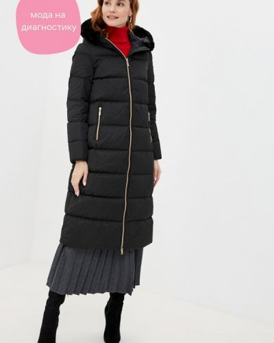 Черная зимняя куртка Geox