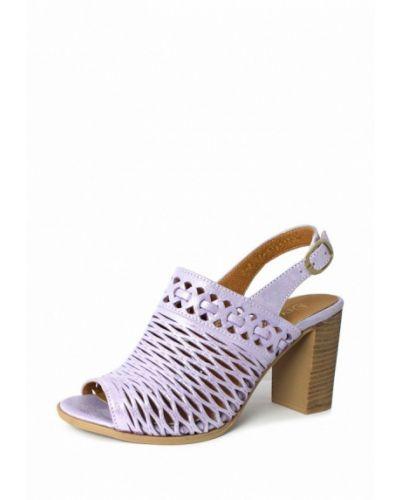 Фиолетовые босоножки на каблуке Blizzarini